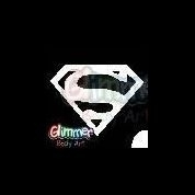 sjabloon logo superman gb