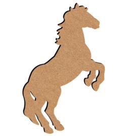 MDF steigerend paard 26 cm