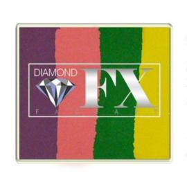 Rainbow SP29 50 gram Carribean Punch (paars/rose/groen/geel)