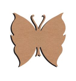 MDF vlinder uitverkocht! 15 cm