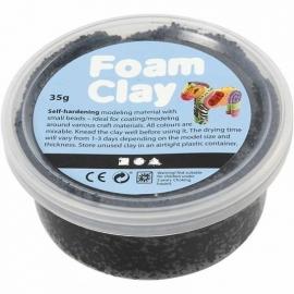 Foam Clay potje 35 gram zwart