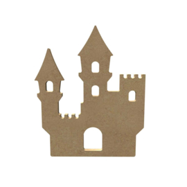 MDF kasteel  15 cm