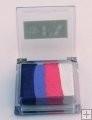 Rainbow SP9 klein vierkant  Cotton Candy (donkerblauw/lavendel/rose/wit)