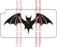 Halloween Bat     Product Code: 189A