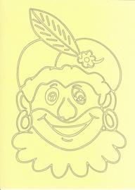 voorbeeld zandkaart sinterklaas Piet
