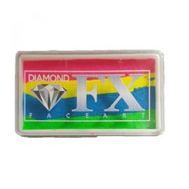 Rainbow SP68 30 gram Neon Rainbow ( rose/geel/blauw/lime)