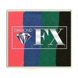 Rainbow SP28 50 gram Oriental Tunes (fuchsia/blauw/groen/zwart)