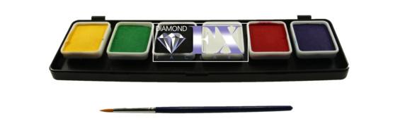Palet essential klein 6x6 gram DFX FSM6RS