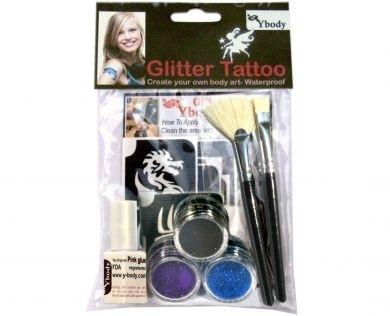 Glittertattoo Teaserset boys product productcode boys
