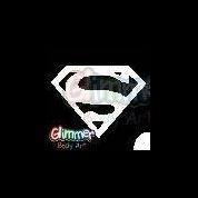 sjabloon logo superman gb