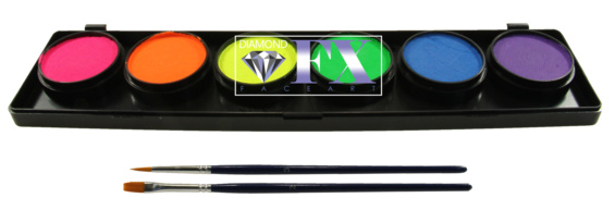 Palet Neon 6x10 gram DFX FSM6N