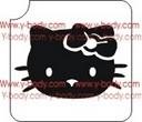 Sjabloon Hello Kitty face productcode 726G