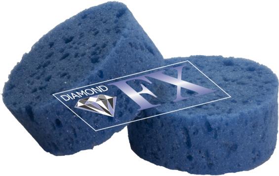 Spons Blauw Medium zacht DFX SPB