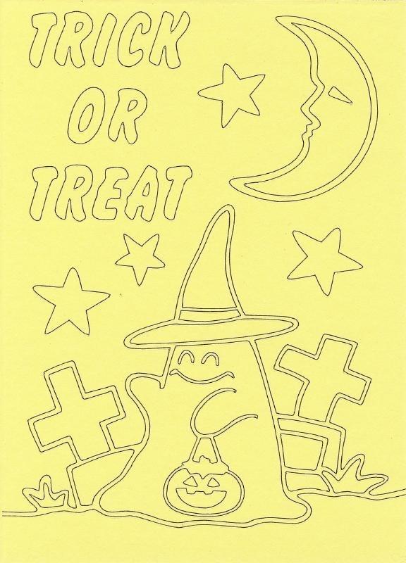 voorbeeld zandkaart Halloween spookje