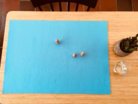 Vilten veld LICHT HEMELSBLAUW 50 x 70 cm