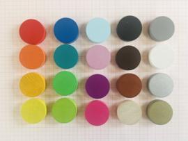 Gekleurde schijfjes - Opsteller & Kleurelement (20 st)