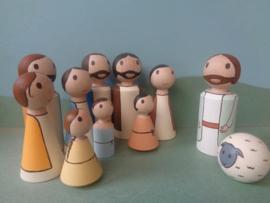 Figuren bijbelse verteltafel