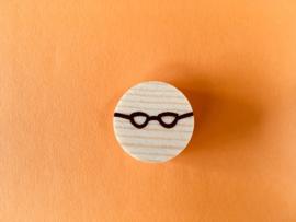Zwarte bril