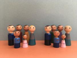 Innerlijk beeld adoptieouders en biologische ouders