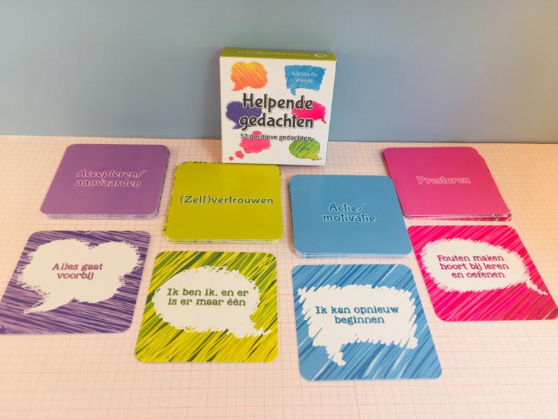 Helpende gedachten - kaarten