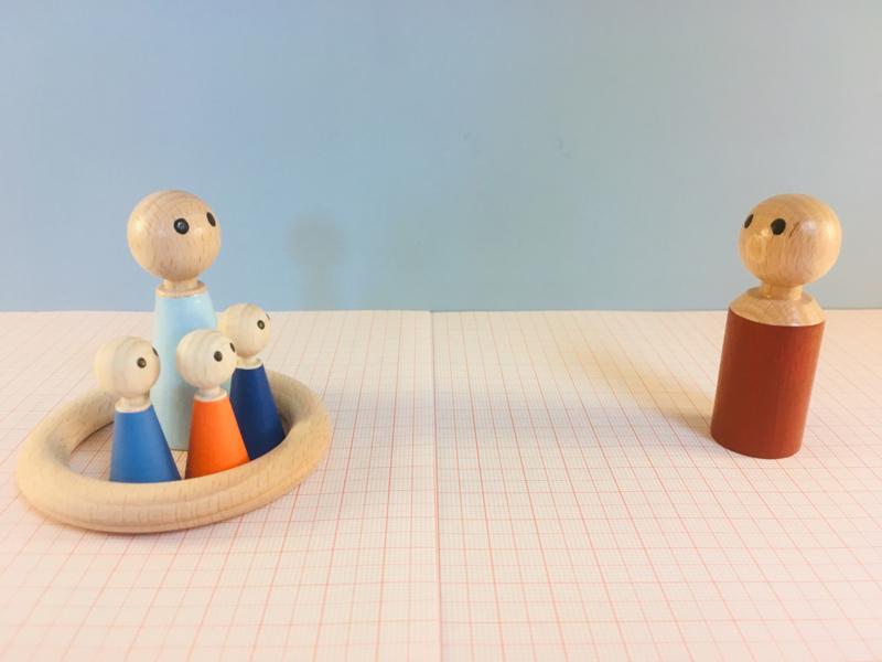 Houten ring - Gevangenis