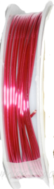 C-0075 Kupferdraht 2,5meter Pink 1,0mm 1 rol