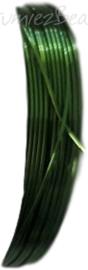 C-0070 Koperdraad 4 meter Groen 0,8mm 1 rol