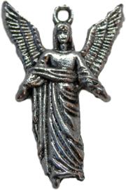 01324 Bedel aartsengel Uriel Antiek zilver