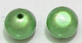 02655 Acryl kraal miracle Groen 14mm 5 stuks