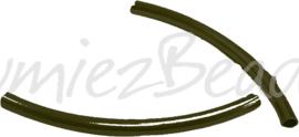 02813 Buiskraal Antiek brons (Nickel vrij) 50mmx3mm; gat 2,5mm 9 stuks