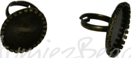 04374 Vingerring Antiek brons 1 stuks