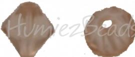 00248 Acryl kraal facet Topaz 9mmx7mm 20gram