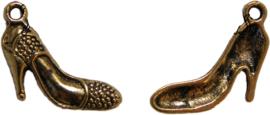 01968 Bedel hoge schoen Antiek goud (Nikkelvrij) 19mmx17mm