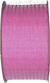 ORG-0310 Organzalint Candy pink 3mm 50 meter