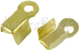 03243 Veterklem Goudkleurig (Nickel vrij) 6mmx3mm 20 stuks