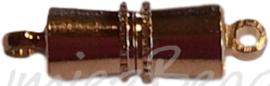 04109 Magneetslot Goudkleurig (Nikkelvrij) 15mmx4mm  1 stuks