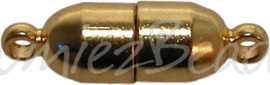 00362 Magneetslot Goudkleurig 19mmx6mm
