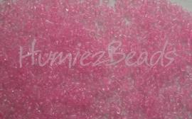 03305 Rocaille Roze transparant 12/0 20 gram