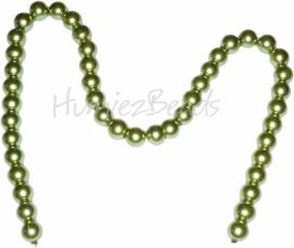 01552 Glasparel streng (±40cm) Groen 10mm 1 streng