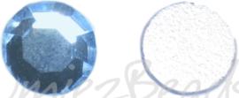 03440 Plaksteen Licht blauw SS30 / 6,5mm 25 stuks