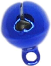 01300 Bedel belletje Kobalt blauw 13mmx10mm 11 stuks