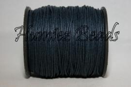 W-0016 Waxkoord donker blauw ±70 meter