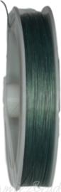 S-1025 Staaldraad Blauwgroen 0,38mm 100 meter