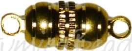 04115 Magneetslot Goudkleurig (Nikkelvrij) 16mmx5mm  1 stuks