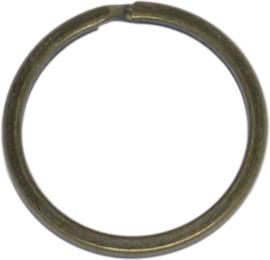 03940 Sleutelring Antiek brons 25 stuks