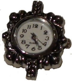 00139 Horloge Metaalkleurig  1 stuks