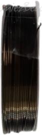 C-0065 Koperdraad 9 meter bruin/groen 0,5mm 1 rol