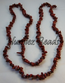 02308 Natuursteen Red Stone Rood 5-8mm ±40cm