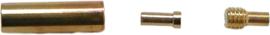 01326 Draaislot voor spang Goudkleurig (Nikkel vrij) 13mmx4mm 3 stuks