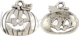 01509 Bedel pompoen Antiek zilver (nikkelvrij)